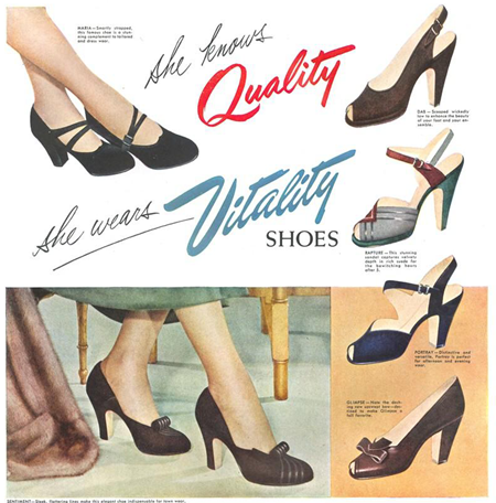Vintage I don't own ~ vintage shoes | Lavender & Twill
