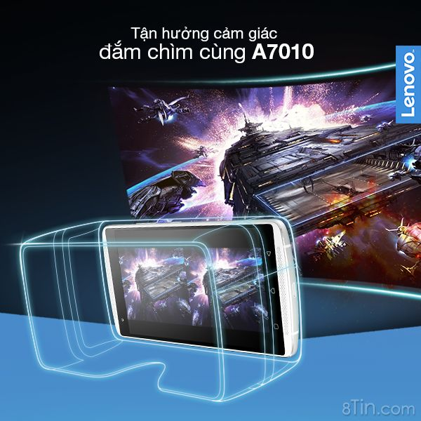 Với sự kết hợp giữa A7010 và kính thực tế ảo, mọi