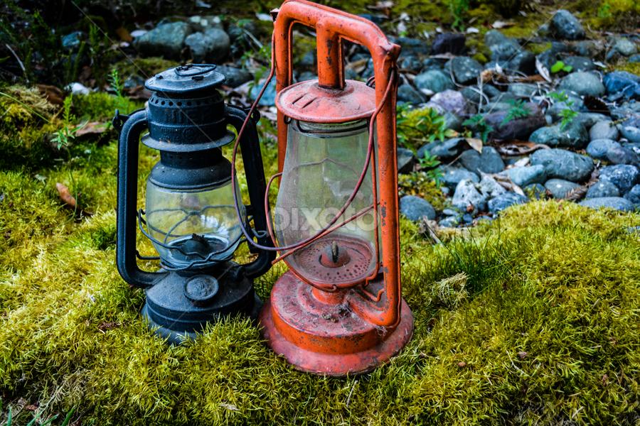 Lanterns by Jeanne Knoch - Artistic Objects Antiques (  )