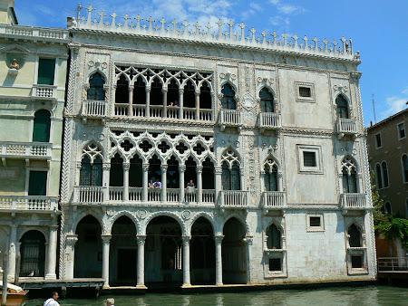 Obiective turistice Venetia: Palat pe Canale Grande