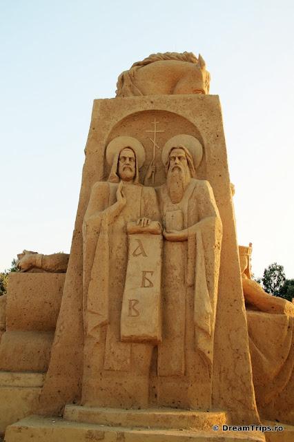sculpturi nisip Burgas Chiril & Metodiu.JPG