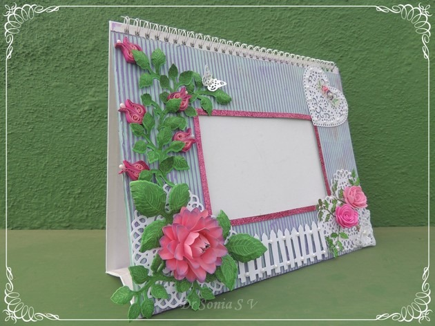 Quilled Photoframe  2