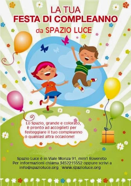Feste di compleanno per bambini a SpazioLuce Milano