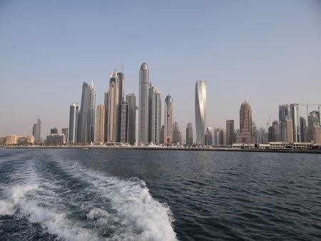 Am plecat din Dubai Marina