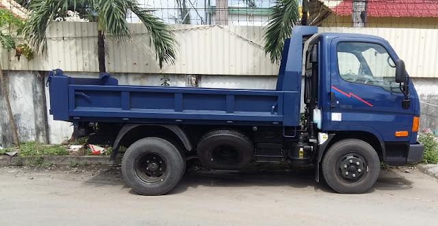 Xe Ben Hyundai 3,5 tấn