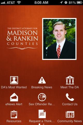 The DA for Madison Rankin Co