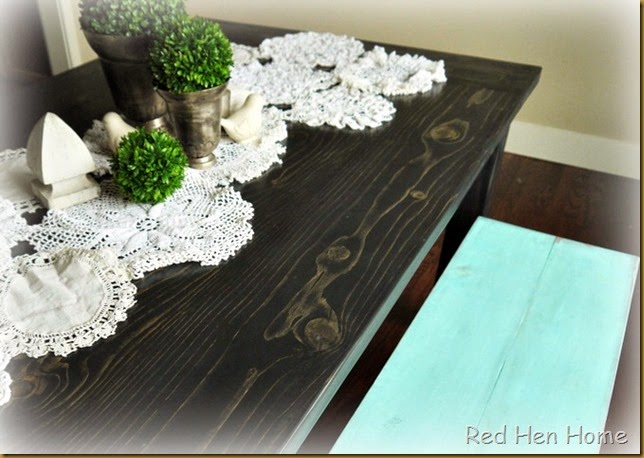 Kim's Farmhouse Table 007
