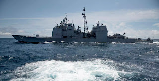 Tuần dương hạm USS Antietam.