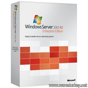 Windows Server 2003 R2 Sp2 Standard - Enterprise Edition Türkçe MSDN