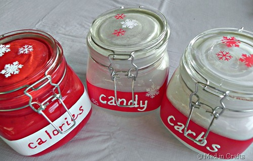 painted canisters