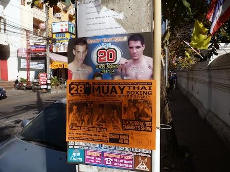 Meci de box thailandez