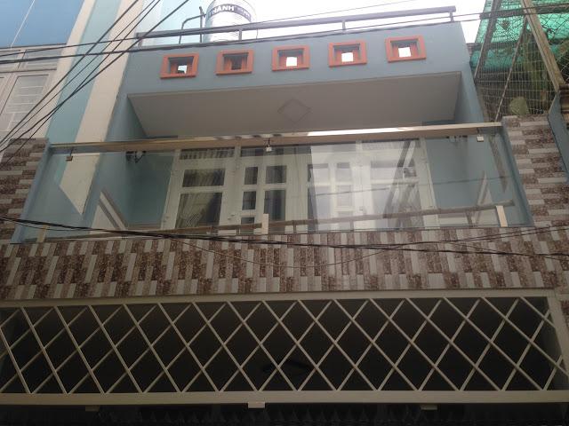 Bán nhà 1 trệt 1 lầu hẻm Kênh Tân Hóa Tân Phú 02