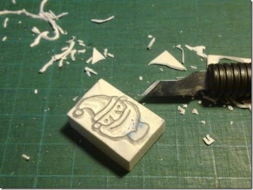 Favorito Come fare Timbri faidate - Homemade stamps - Cafe Creativo WU45