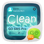 GO SMS Pro Clean Theme EX Android APK Download Free By ZT.art