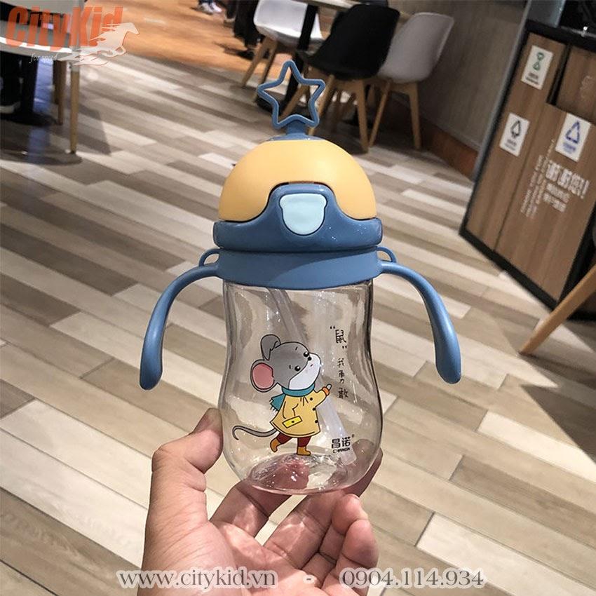 Bình uống nước cho bé đi học