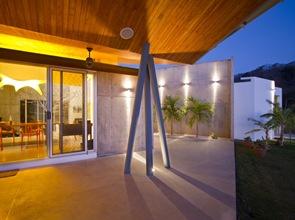 cubierta de diseño casa moderna