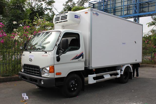 Hyundai HD65 thùng đông lạnh
