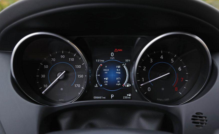 Nội thất xe Jaguar F Pace new model 07