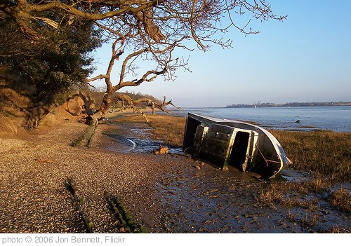 'River Orwell at Nacton, Suffolk' photo (c) 2006, Jon Bennett - license: http://creativecommons.org/licenses/by/2.0/