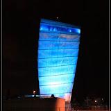 Farbwechselspiele: blau