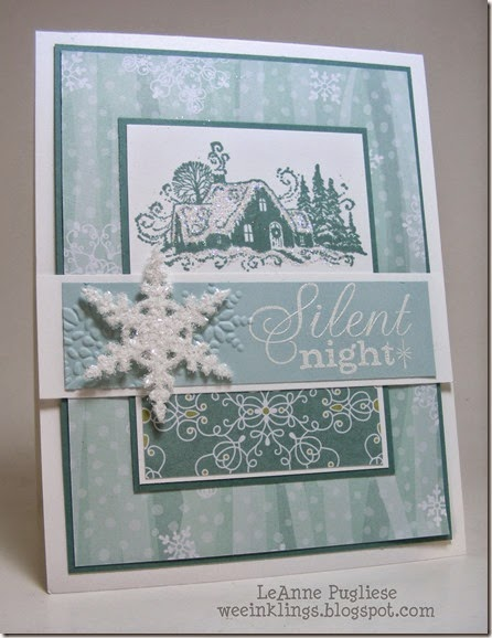 LeAnne Pugliese WeeInklings Merry Monday 130 Christmas Stampin Up
