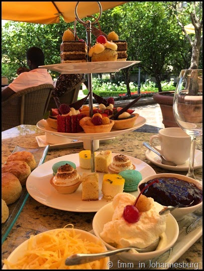 Afternoon tea at the Palazzo Montecasino