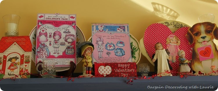 Vintage Valentine Display 2
