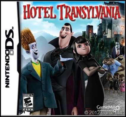 Hotel Transylvania for DS box art