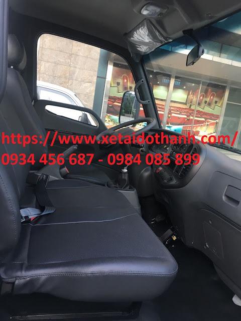 Nội thất xe tải Hyundai LT