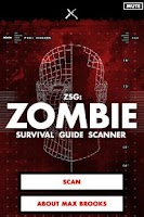 Screenshot of Zombie Survival Guide Scanner