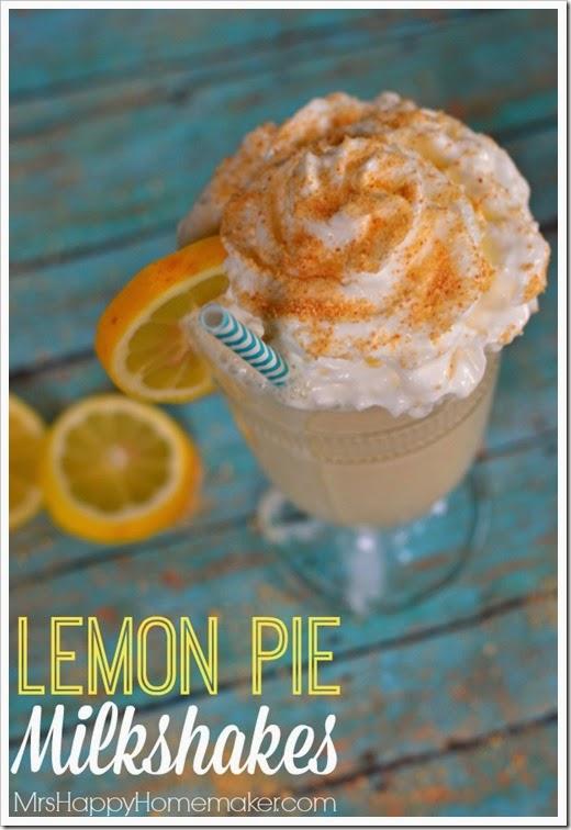 lemon pie milkshake