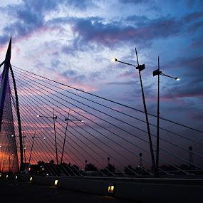 Wawasan bridge putrajaya by Eddy Ahmad - Buildings & Architecture Bridges & Suspended Structures ( blogger )