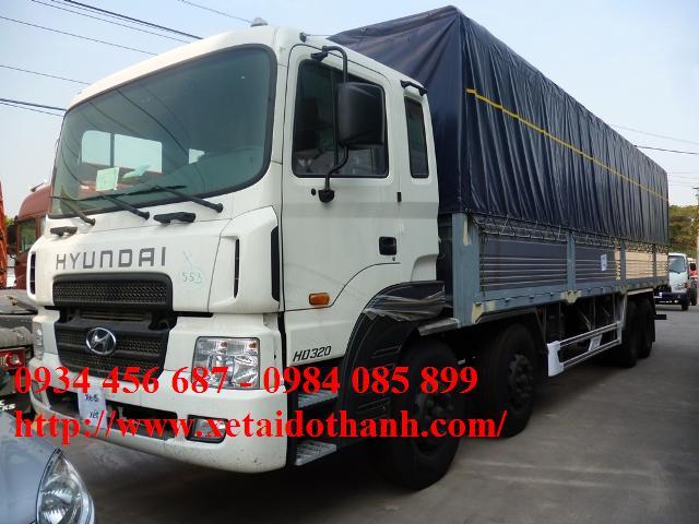 xe hyundai hd320 thung bat