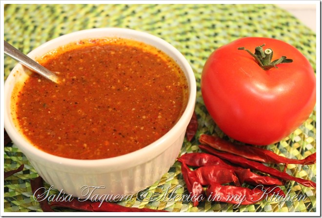 Salsa Taquera its very delicious