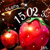 Strawberry Choco LiveWallpaper