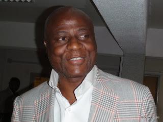Constant Omari, président de la Fecofa, à Kinshasa en avril 2010.