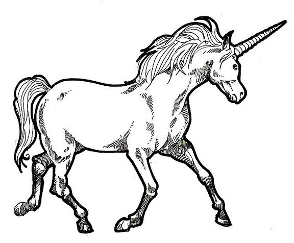 Dibujos De Unicornio Para Pintar