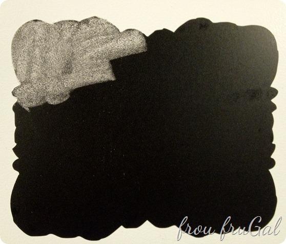 Chalkboard Vinyl Note Frame