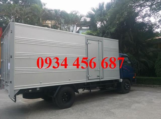 Xe Tải Đồng Vàng 6 tấn HD600 thùng kín