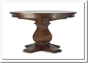 restoration hardware Camden table