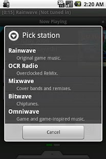 Rainwave - screenshot thumbnail