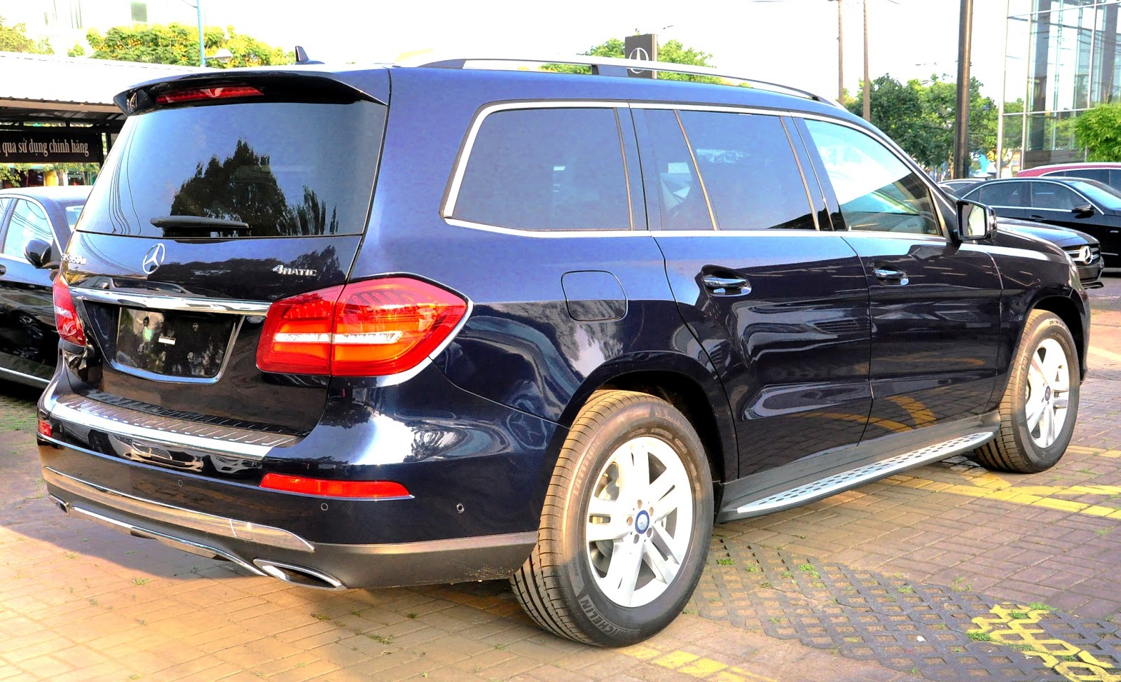 Xe Mercedes Benz GLS 350 d 4Matic 08