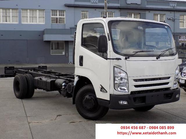 Xe tải IZ65 Đô Thành 2.5 tấn sắt xi chưa thùng