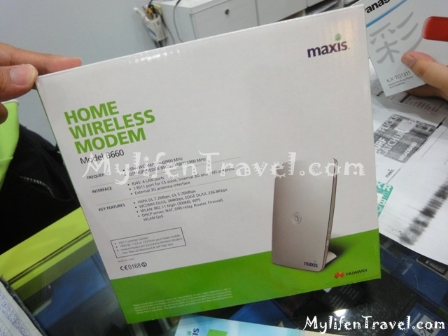 Maxis Wireless Internet 18