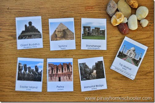 FREE Famous Rock Formations Picture Cards Printable