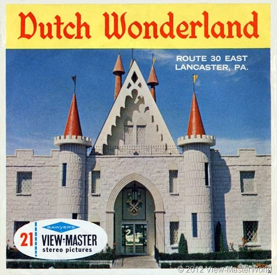 View-Master Dutch Wonderland (A634), Packet Cover