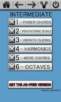Screenshot of Learn Guitar