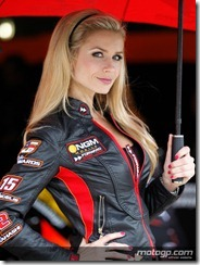 Paddock Girls Monster Energy Grand Prix de France  20 May  2012 Le Mans  France (5)
