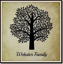 Webster Family Logo with Museum Mat