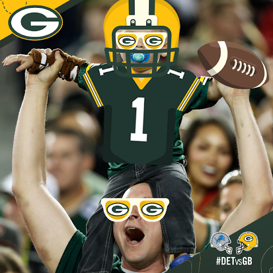 Green Bay Packers Gameday Party Pack
